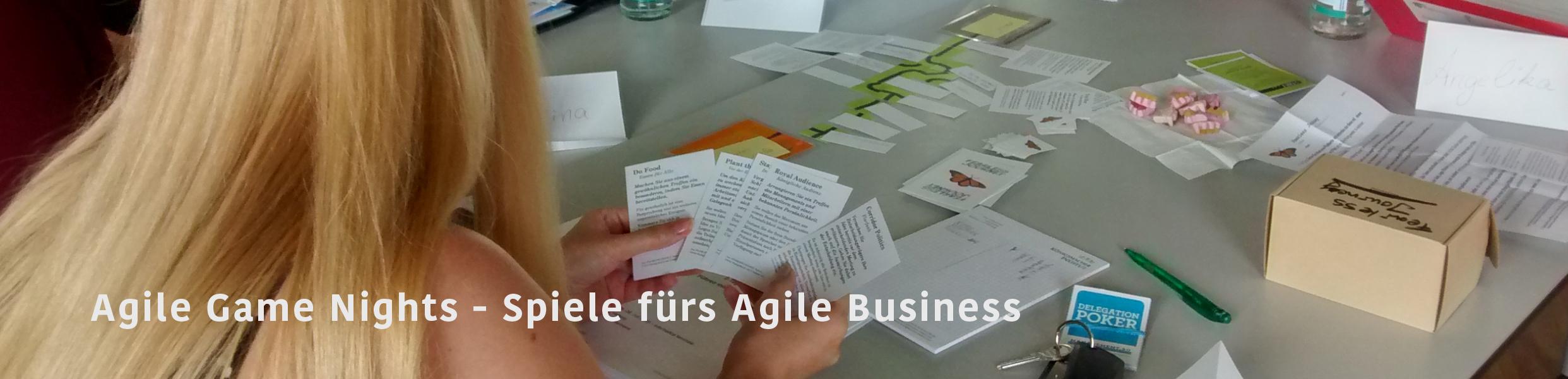 Agile Spiele agile business games – spielerisch – menschen bewegen