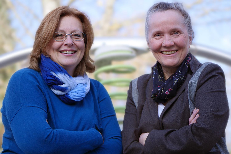 Ellen Hermens und Sieglinde Fritz von Agile Business Games